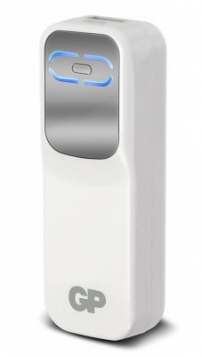 Portable PowerBank 2600 White